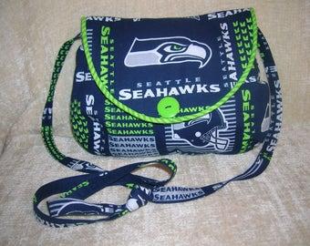 "Seattle Seahawks shoulder strap purse - ""Sarica"""