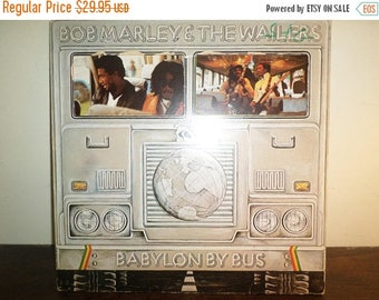 Save 30% Today Vintage 1978 Vinyl LP Record Babylon by Bus Bob Marley & The Wailers Very Good Condition 11053