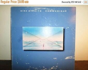 Save 30% Today Vintage 1979 Vinyl LP Record Communique Dire Straits Near Mint Condition 11127