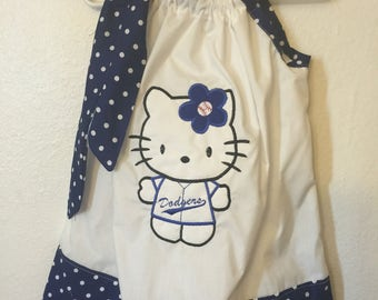 A Beautiful Applique Pillowcase Dress