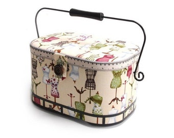 DRESS FORMS Sewing Basket
