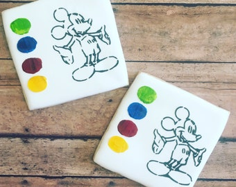 Mickey Mouse / paint your own cookie / mickey cookie/ sugar cookies- 1 dozen cookies