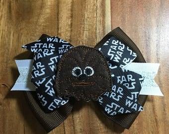 Chewbacca Star Wars Bow