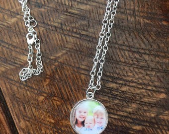 Personalized mother/grandmother necklace