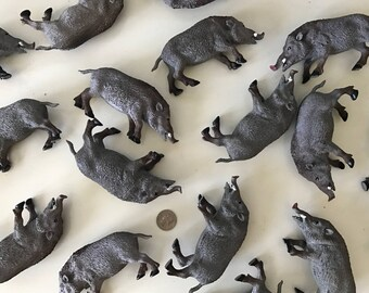 Large Plastic Boars / Centerpiece / Table Number