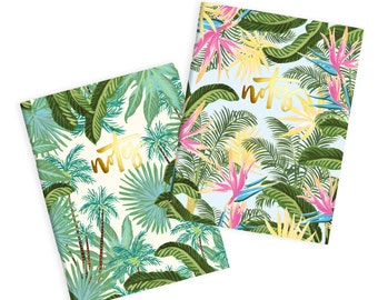Bird Of Paradise (2 Pack) Pocket Notebook Pack