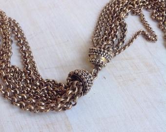 Scandinavian bronze necklace