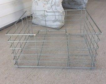 Wire Storage Basket Industrial Wire Basket Metal Basket