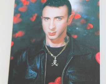 Marc Almond Tainted Life Autobiography. Advertising Postcard