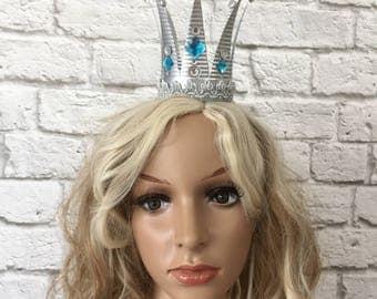 The White Queen Crown, Alice in Wonderland Crown, Mirana Marmorel Crown