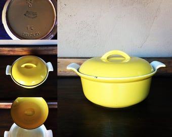 Descoware Pot made in Belgium / Enamelware/ Cast Iron Cookware