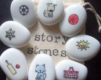 Story Stones Sunny Sports Day