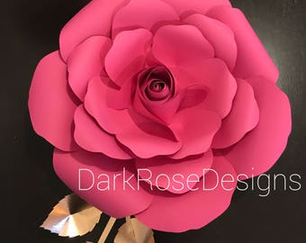 Large Rose Decor