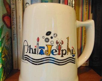 Philadelphia  Mug  Stein   Frank Nofer Inc 1976
