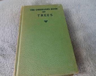 Vintage observers book on Trees