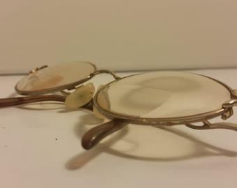 1986 Monet Tan Marine Eyeglasses