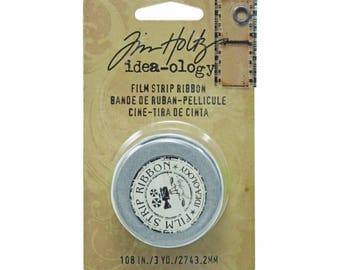 Tim Holtz Idea-ology FILM STRIP RIBBON Transparent Filmstrip