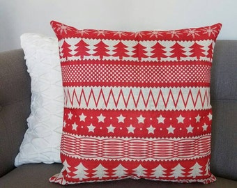 BLACK FRIDAY SALE, Christmas pillow cover, Christmas decor, Christmas Tree, Merry Christmas pillow