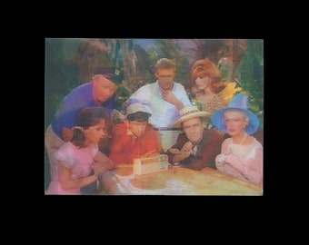 GILLIGAN'S ISLAND lenticular trading card by Dave Woodman