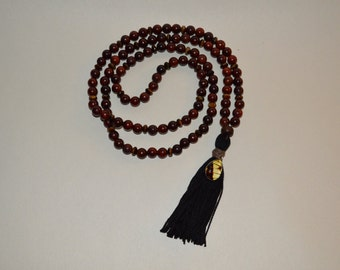 99 Sibha/Prayer Beads Cherrywood