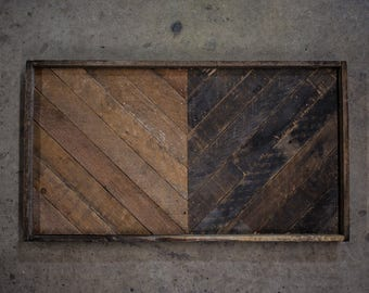 handcrafted salvaged lath wood wall art