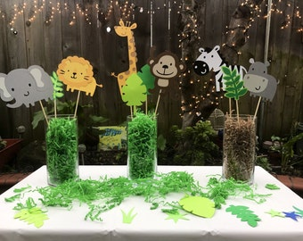 Zoo / Jungle / Safari Centerpiece