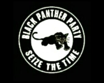 Black Panther Party T-shirt   Seize The Time Black T-shirt   Political T-shirt   Unisex T-shirt   Power Fist   Free Shipping