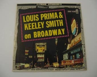 Rare Stereo Version! - Louis Prima & Keeley Smith - On Broadway - Circa 1959