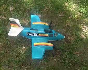 1979 vintage tonka toy airplane