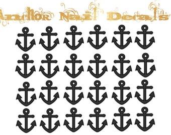 Anchor Vinyl Nail Decals