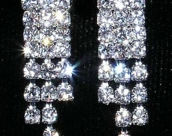 Style # 14134 - Crystal Rivet Earring