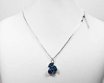 Blue Shade Necklace