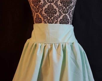 Inverted cross skirt