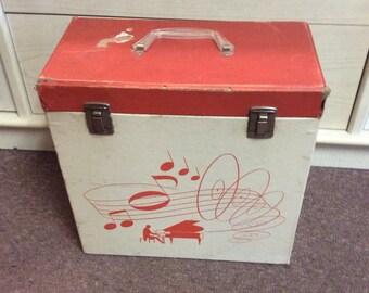 Vintage Record Case Platter-pak