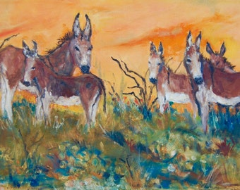 Burros of Sonora