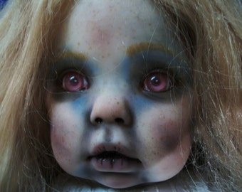 OOAK Doll 31 Inches Film Prop Reborn Ghost Zombie Walking Dead Z Nation