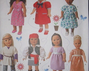 """18"""" doll clothes, simplicity 1087"""