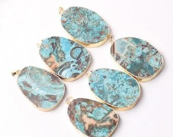Ocean Jasper Pendants natural gemstone pendant YHA-231