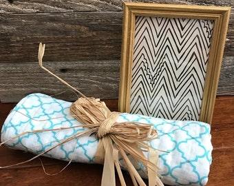 Baby Bundle Gift Set- Blue Pattern
