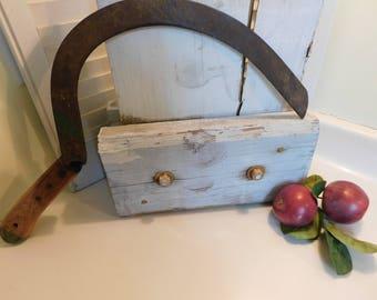 Rustic Vintage Hand Hay Scythe - Vintage Hand Tools - Hay Cutter