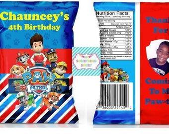 Paw Patrol Party Printable Templates (READ DESCRIPTION before ordering)