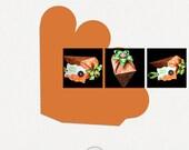 Carrot Box SVG, PSD, PDF +