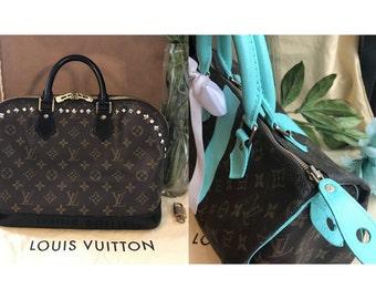 Custom restored authentic Louis Vuitton Alma or Speedy 25-30