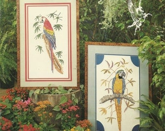 Exotic Birds Cross Stitch Chart