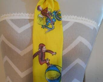 Curious George Print Toddler Neck Tie