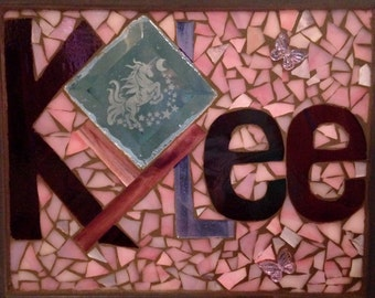 Personalized Stained Glass Name Windows/Plaques