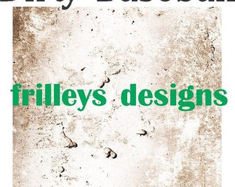 Vinyl, Baseball Dirty, Pattern Vinyl, Grungy, Baseball Print Vinyl- HTV or Adhesive Vinyl-