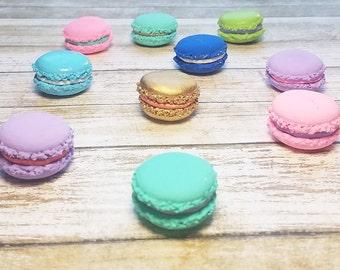 Macaron Magnet, Clay Magnet, Macaron, Pastel, Set of 3