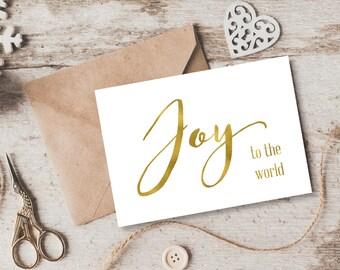 Foil Christmas Cards