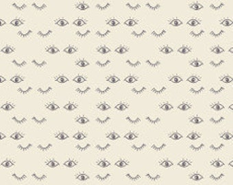 Fabric - Art gallery - jersey fabric - Hello Ollie Meadow Dreams Pure Knit - Organic cotton jersey